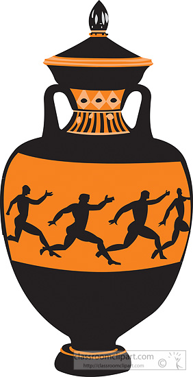 Greece clipart greek vase Clipart clipart Ancient collections logo