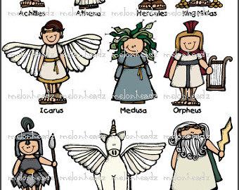 Greece clipart myth Clipart Greek kids Mythology mythology