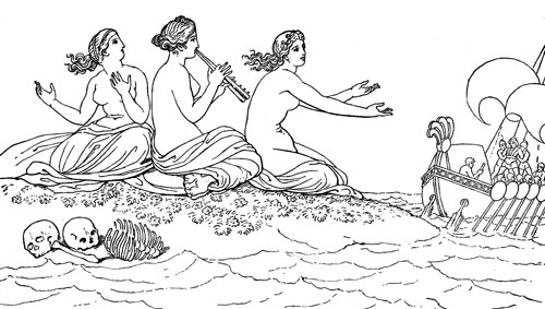 Greece clipart odysseus Mythology Sirens The Pinterest Sirens