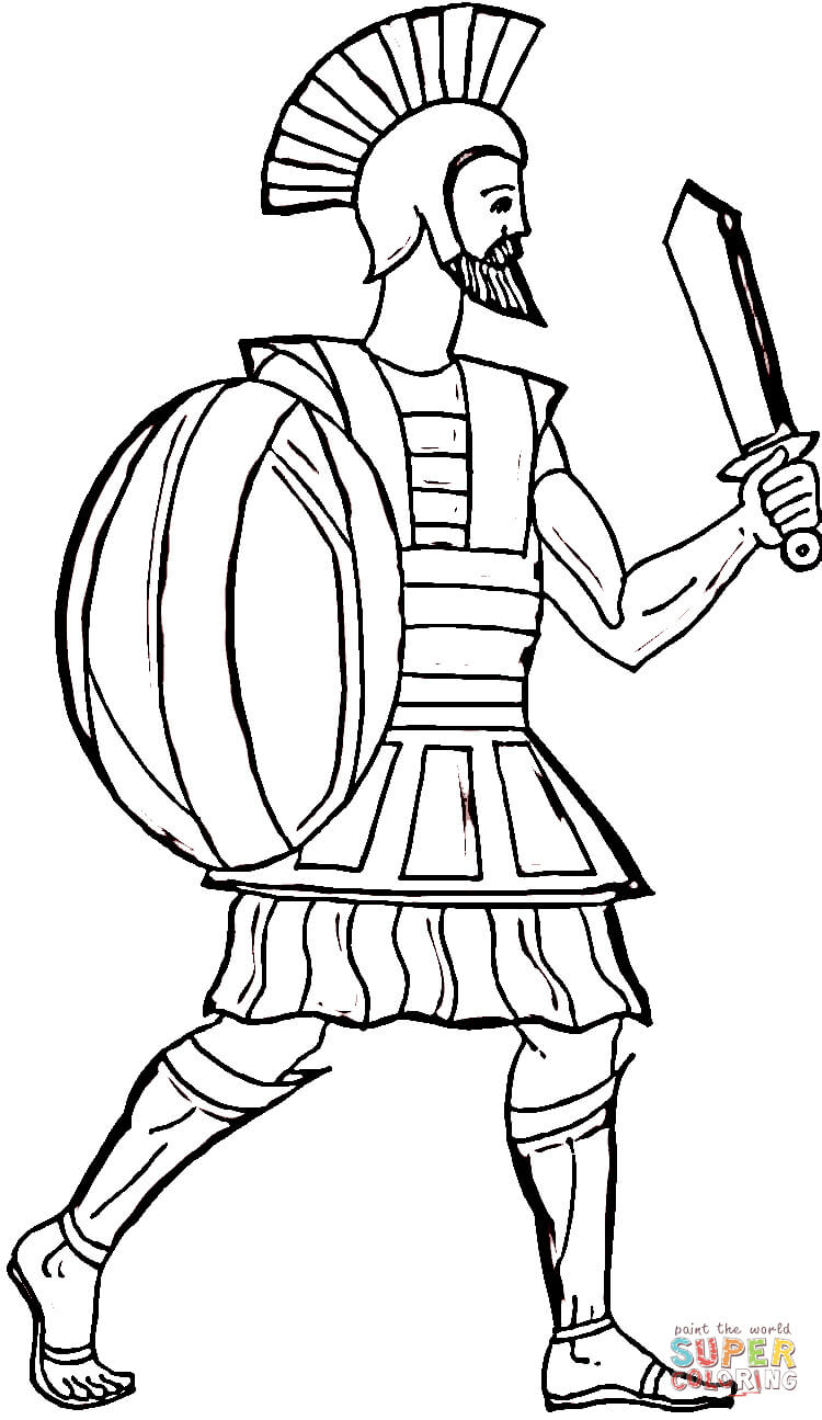 Zeus clipart odysseus Printable coloring page Pages Coloring