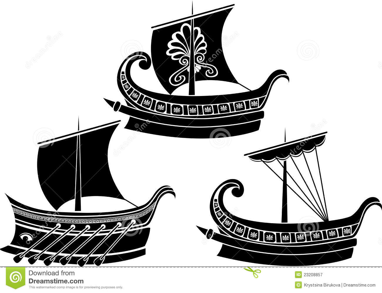 Greece clipart odysseus Greece man boat A couple