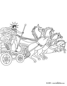 Greece clipart phaeton GREEK titan the PHAETON AND