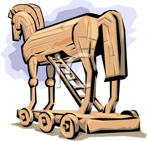 Trojan Horse clipart ancient greece The the Trojan A Trojan