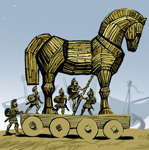 Greece clipart trojan horse #9