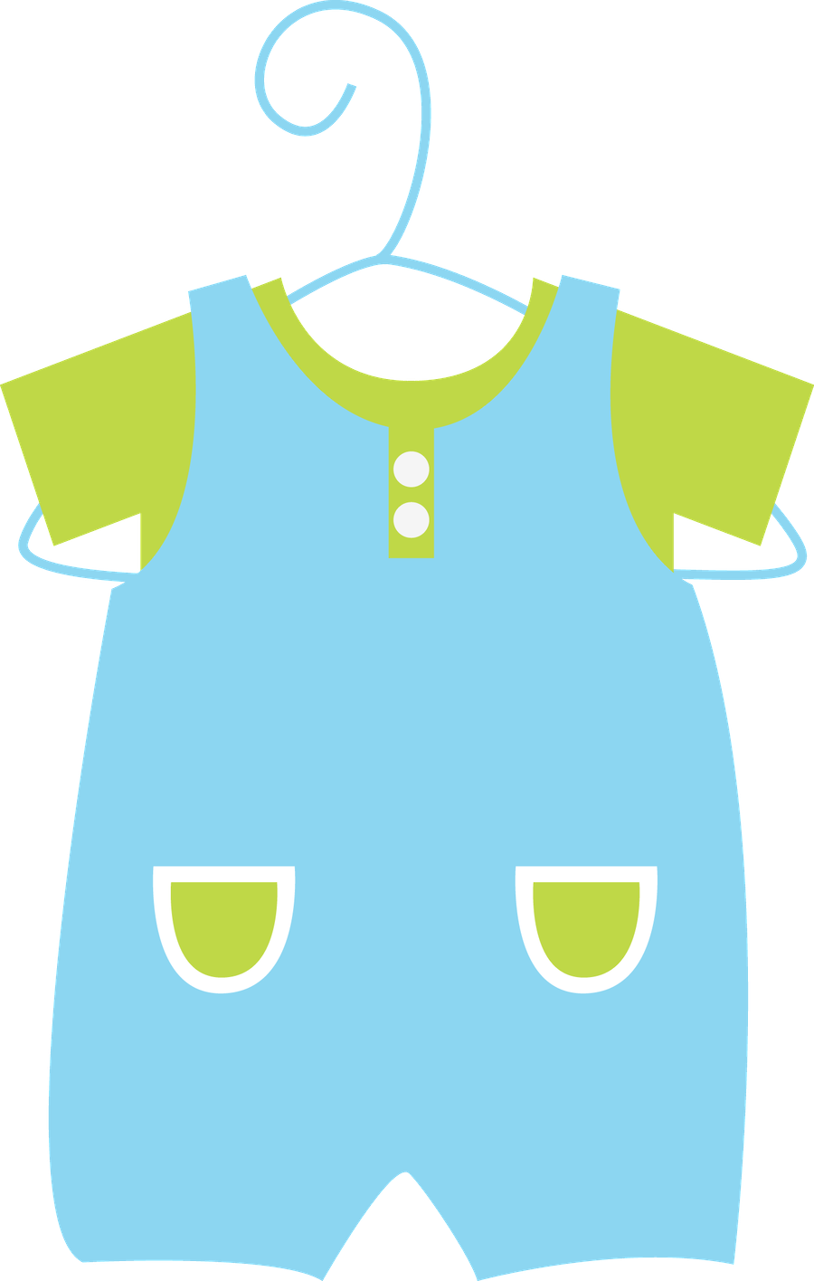 Yellow clipart baby clothes Clipart Ꭷ Clothesline more Pin