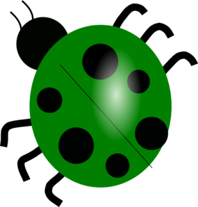 Yellow clipart ladybug Clip Art  vector Art