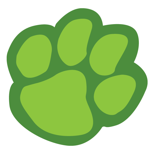 Bobcat clipart lion paw  on Lion Print library
