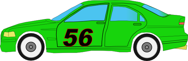 Race Car clipart green Silhouette silhouette art scouts