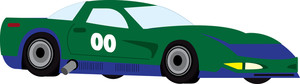 Race Car clipart green Cartoon cars art Clipartix car
