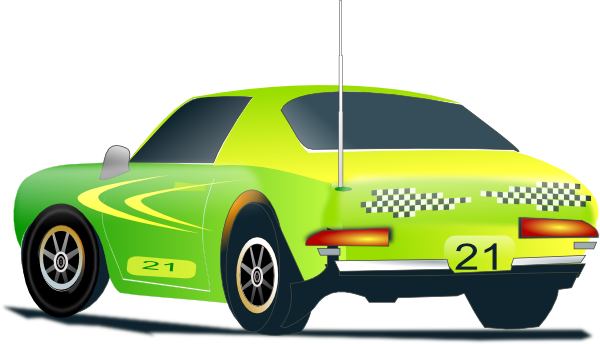 Blue Car clipart racing car Online Race Download at Clip