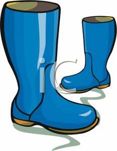 Shoe clipart rainy #9