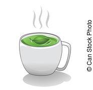 Teacup clipart green tea Cup 45 cup A
