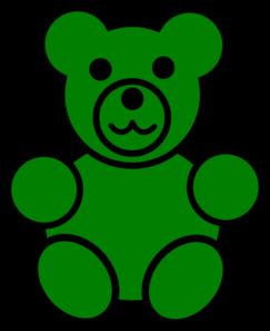 Gummy Bear clipart teddy bear outline Bear Clker  at Art