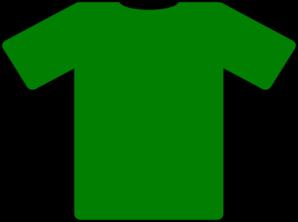 Yellow clipart t shirt Green shirt at Clker vector
