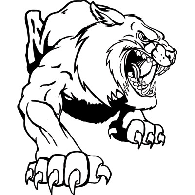 Wildcat clipart body Art on Free Clip Images