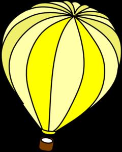 Yellow clipart hot air balloon Yellow%20balloon%20clipart Panda Clipart Yellow Images