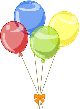 Iiii clipart balloon #1