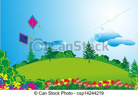 Green Day clipart beautiful environment Clipart Art beautiful of collection