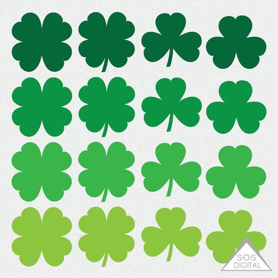 Green Day clipart clover St Pinterest Clipart Shamrock Small