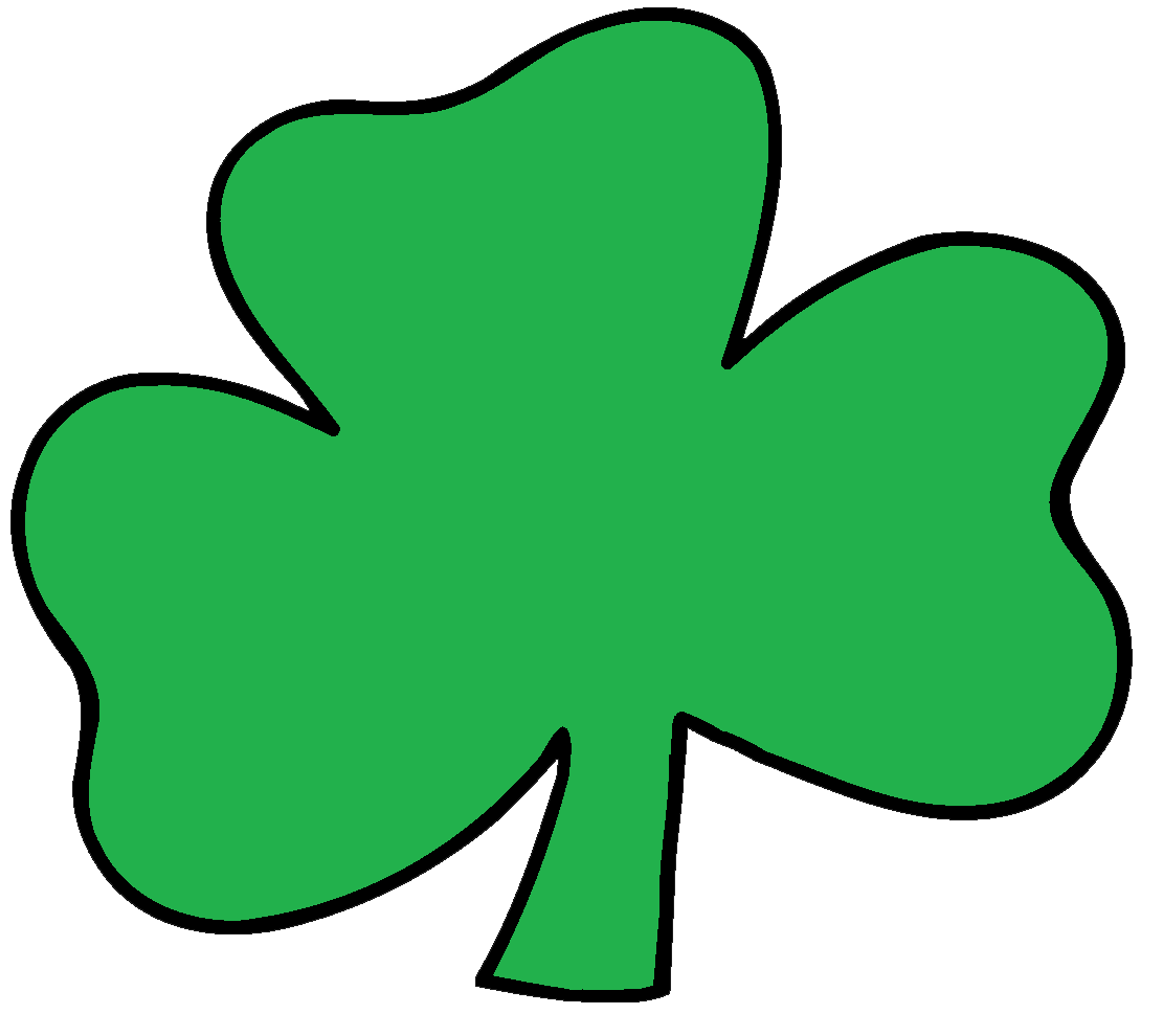 Green Day clipart clover Art 65 Shamrock Clipart Image