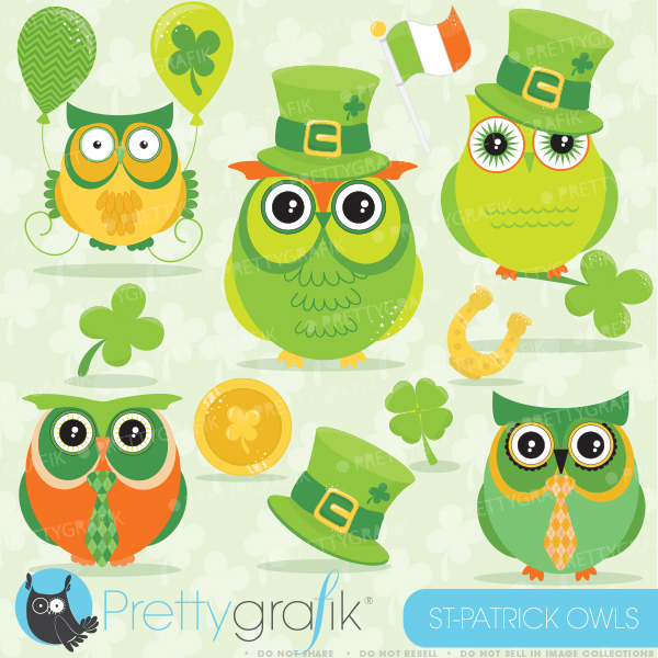 Green Day clipart cute St and day your Patrick's