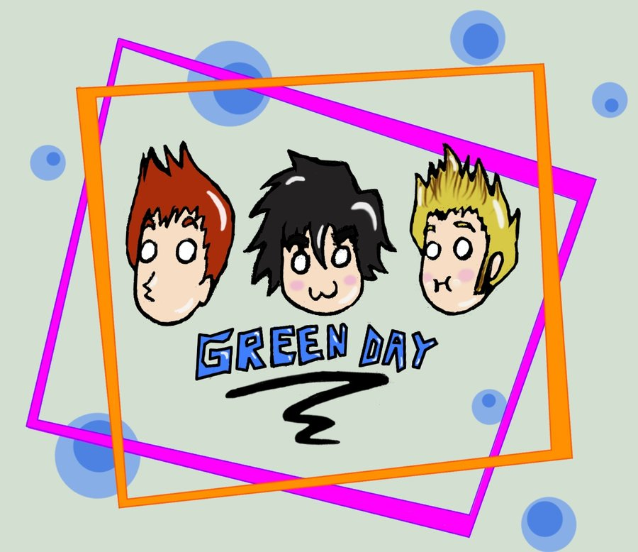 Green Day clipart cute Green on Cute Day Day