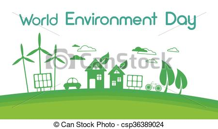 Green Day clipart enviroment Of Green Panel Vector Wind