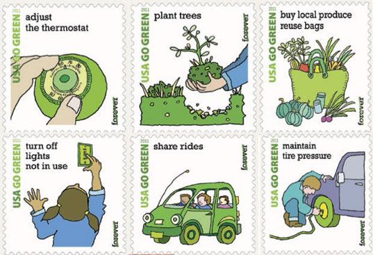 Green Day clipart enviroment Awareness Postal for  Service