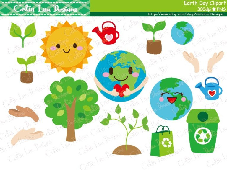 Green Day clipart environmental policy Clipart Instant Clip Clipart Recycle