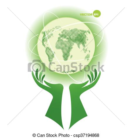 Green Day clipart environmental protection Earth Globe Earth Day Earth