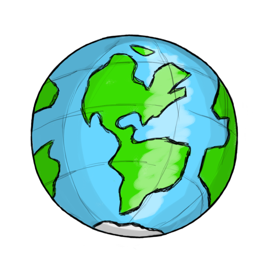 Planets clipart earth #15