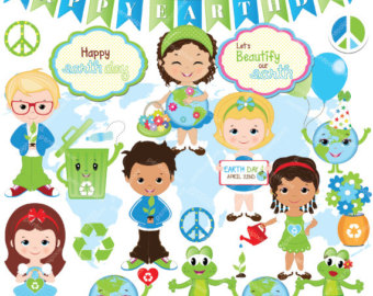 Green Day clipart globe Clipart clipart Earth Kids Recycle