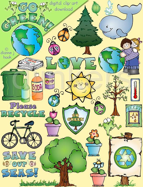 Green Day clipart going green Green art Green Going Go