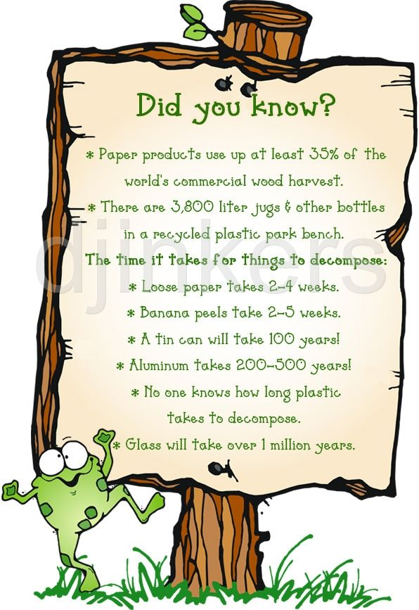 Green Day clipart going green Facts taking Smiles 106 Fun