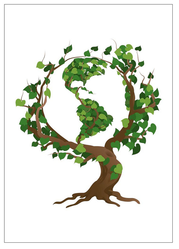 Green Day clipart going green Earth Every Art Free Mother