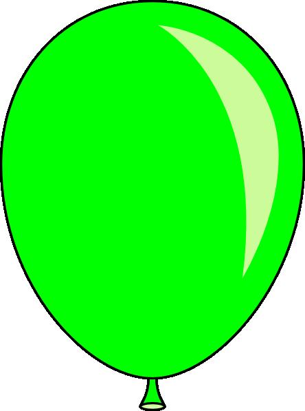 Balloon clipart oval Green Green Free Clip Balloon