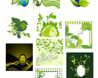 Green Day clipart green leaf Etsy Art Tags day Earth