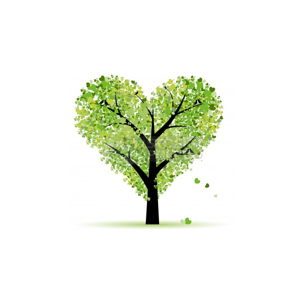 Green Day clipart green leave Love from Valentine Valentine tree
