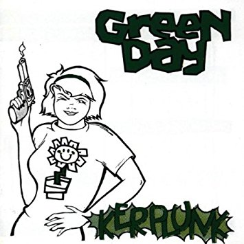 Green Day clipart green thing Kerplunk Music Amazon com Kerplunk