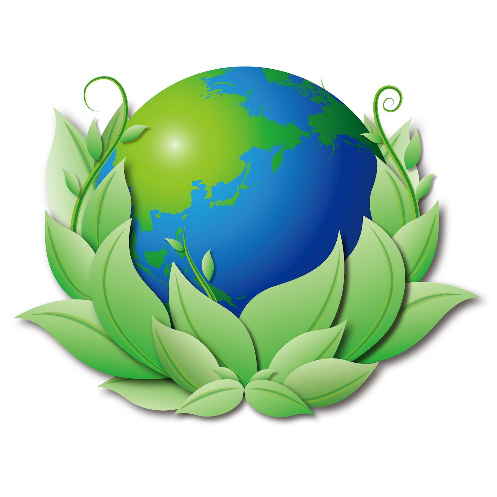 Green Day clipart healthy environment Day clip Environmental health art