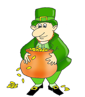 Green Day clipart leprechaun Dansing with pot leprechaun Day