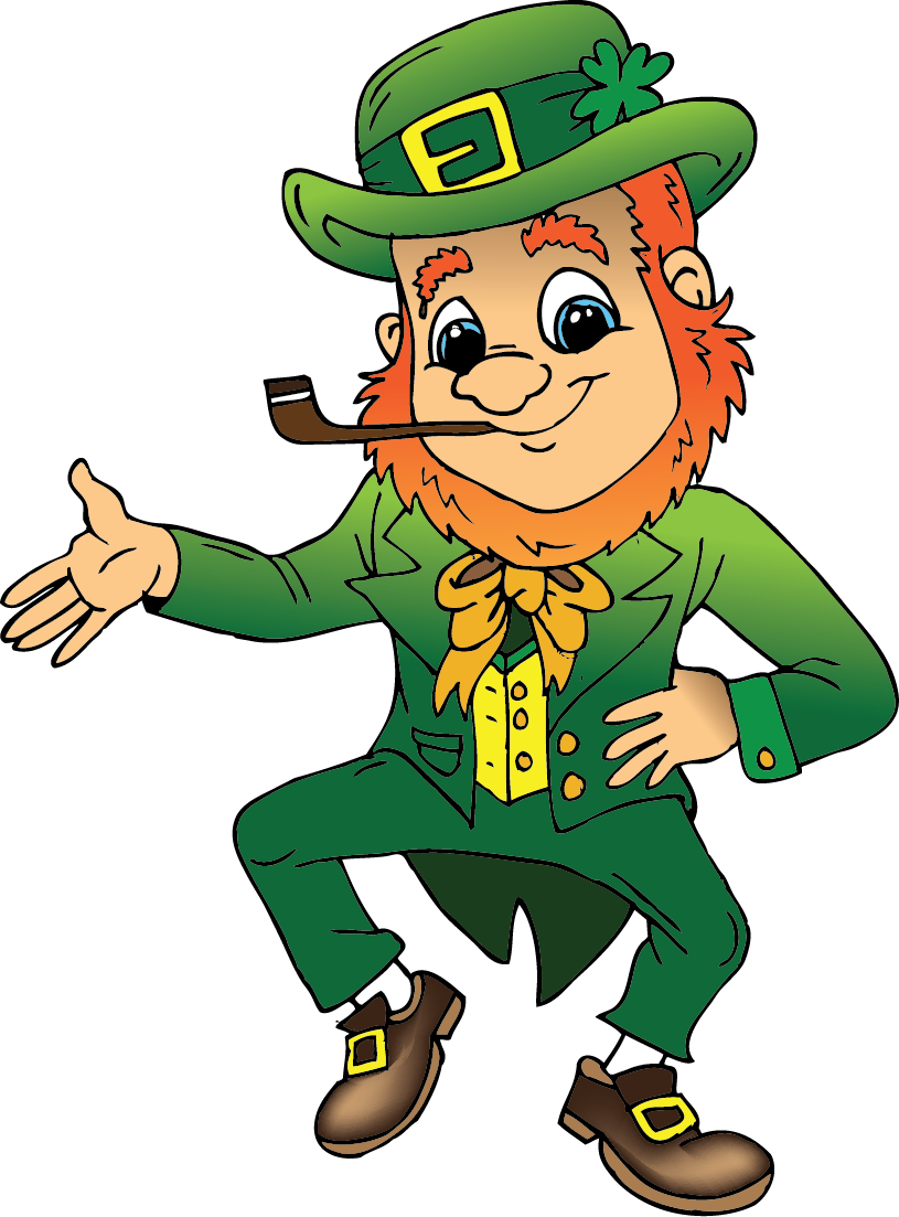 Green Day clipart leprechaun March st collection free day