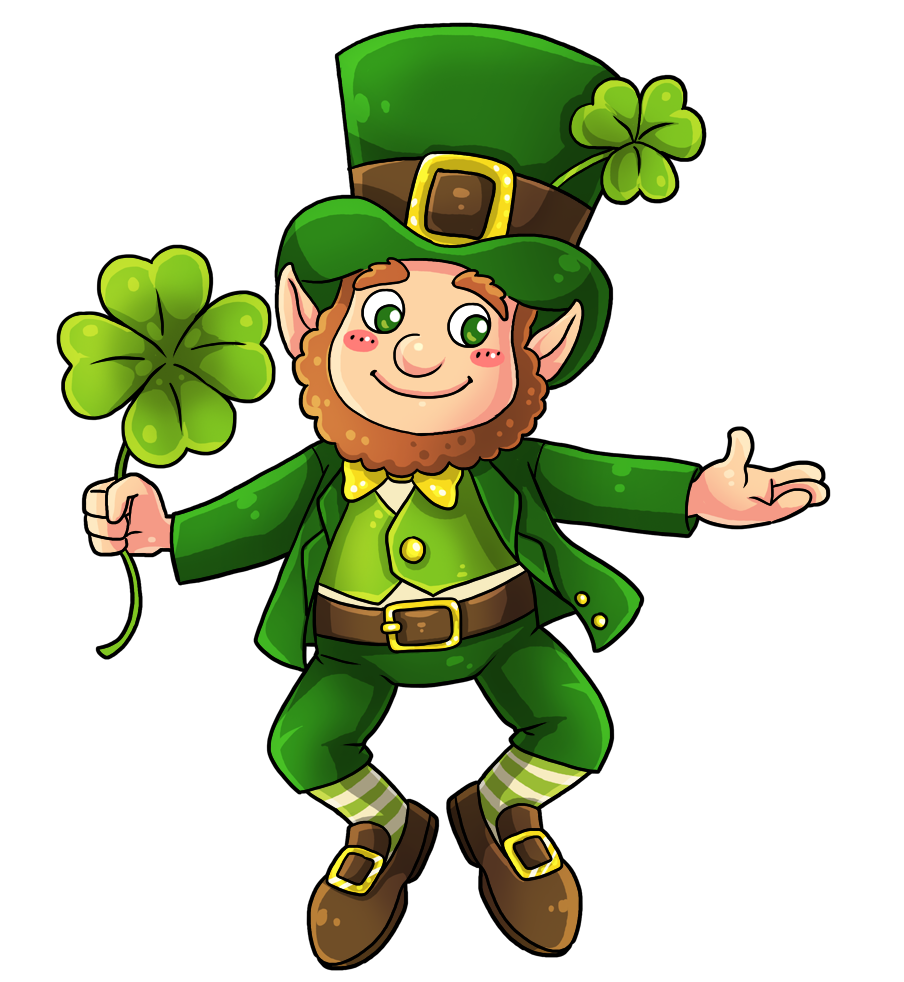 Handprint clipart colored Day png Clipart st patricks