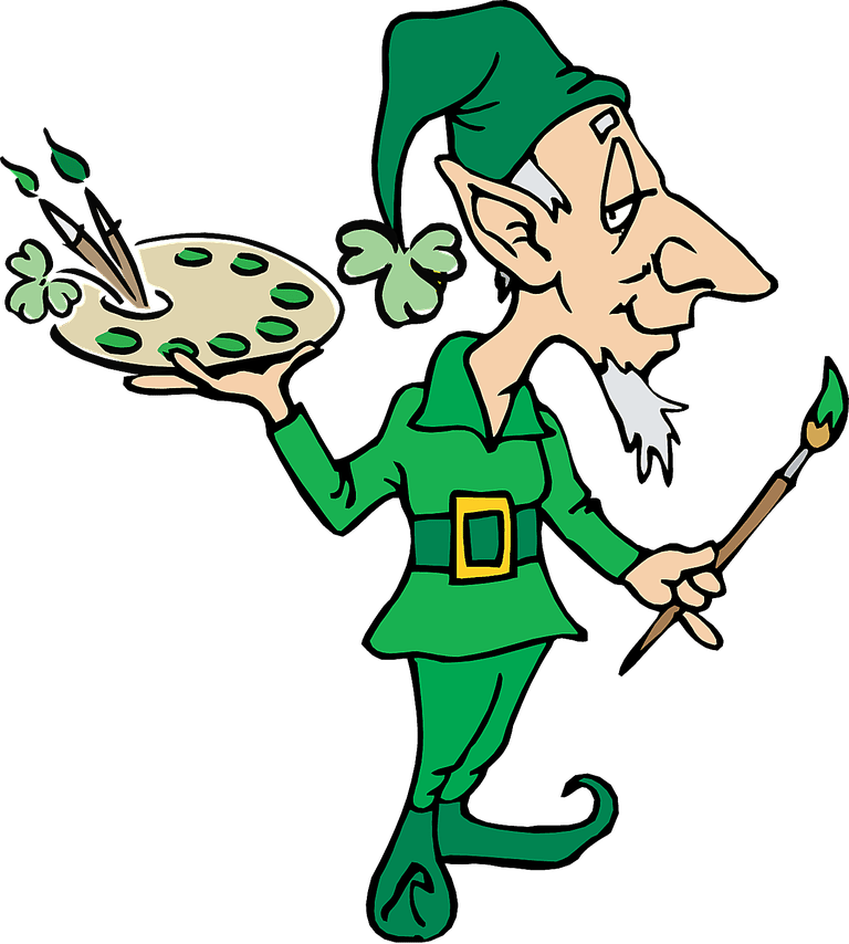 Green Day clipart leprechaun Clip Clip Patrick's Art for