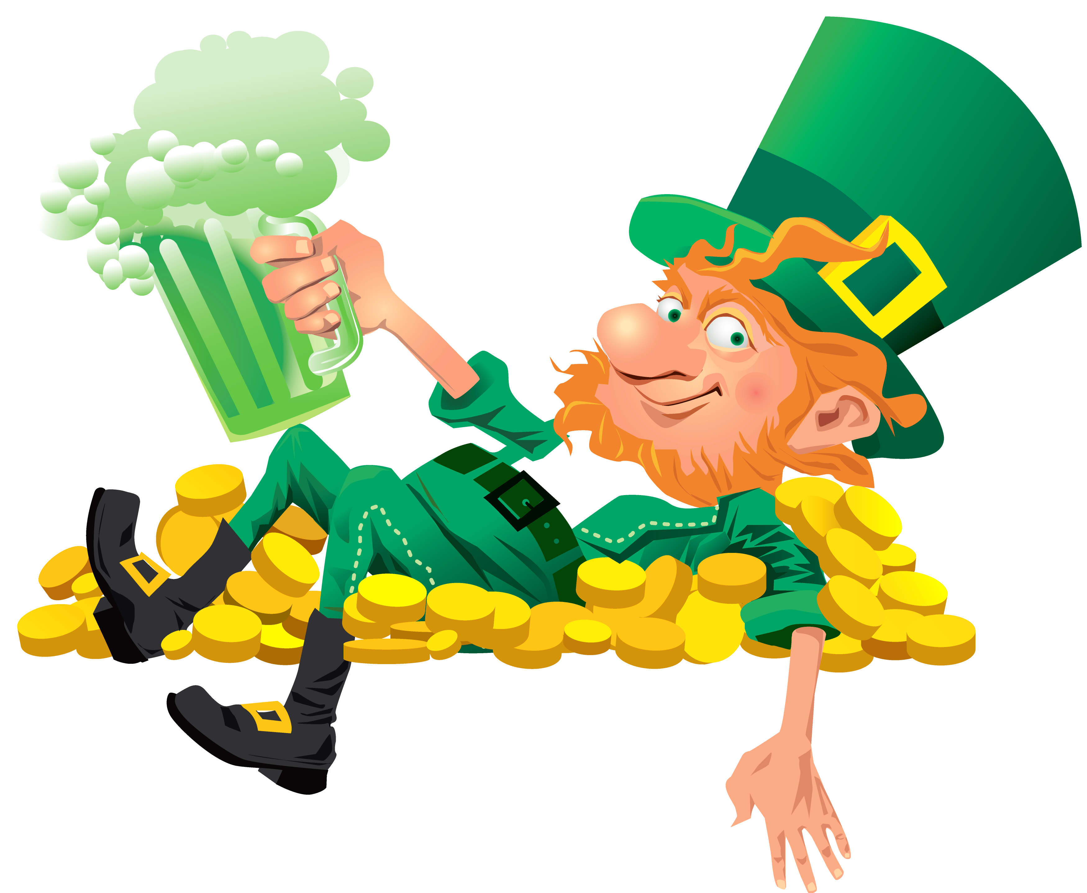 Green Day clipart leprechaun Leprechaun Leprechaun Images Beer pub