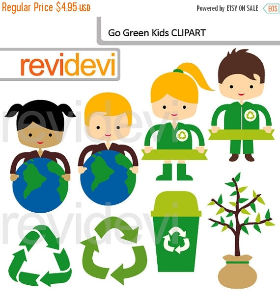 Green Day clipart love earth And SALE Recycle 50% earth