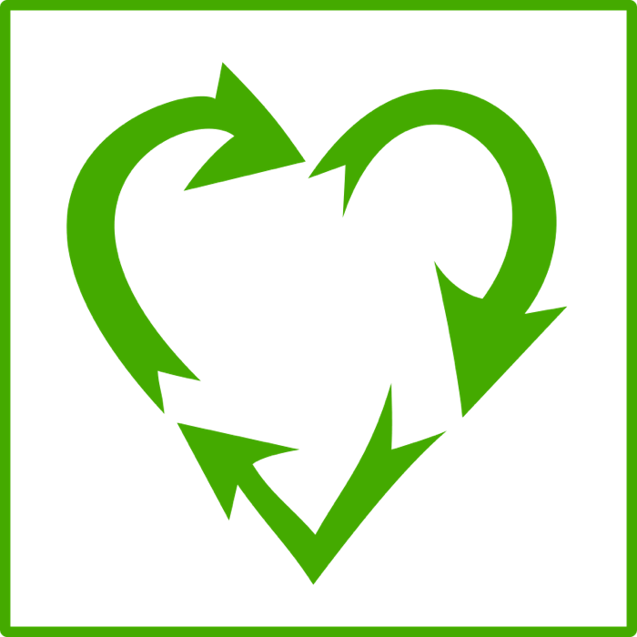Green Day clipart love earth Environmental Earth Recycle Love /