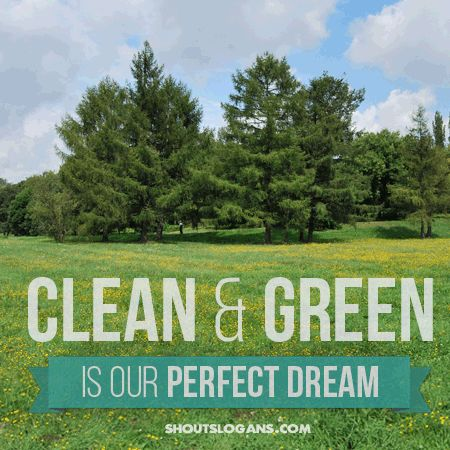 Green Day clipart natural environment On slogans Find Go 20+