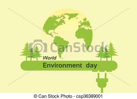 Green Day clipart natural environment Silhouette of Vector Vector Globe