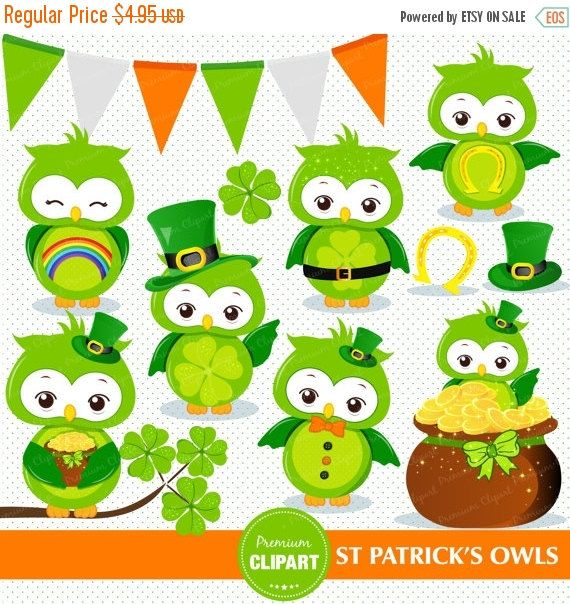 Green Day clipart owl Clipart Clove about Patrick clipart